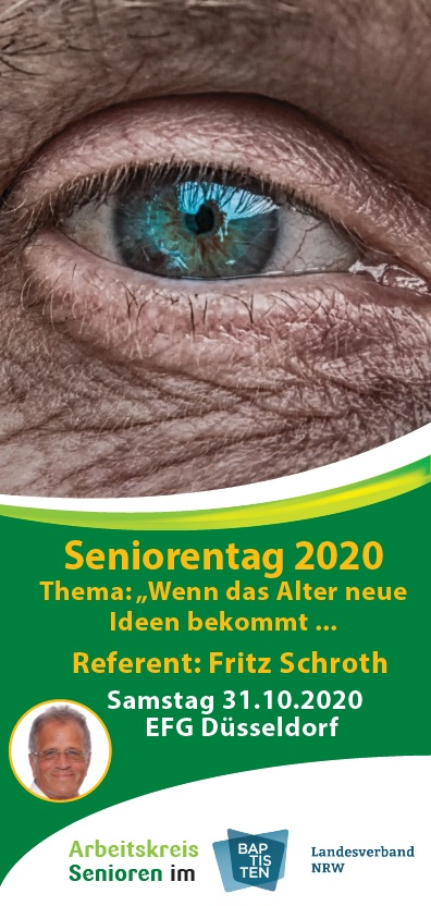 Seniorentag 2020 Flyer Cover