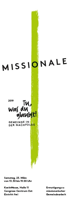 Missionale 2019 Flyer Cover